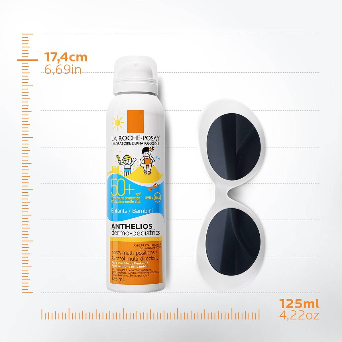 La Roche Posay ProductPage Sun Anthelios Dermo Pediatrics Spray Spf50