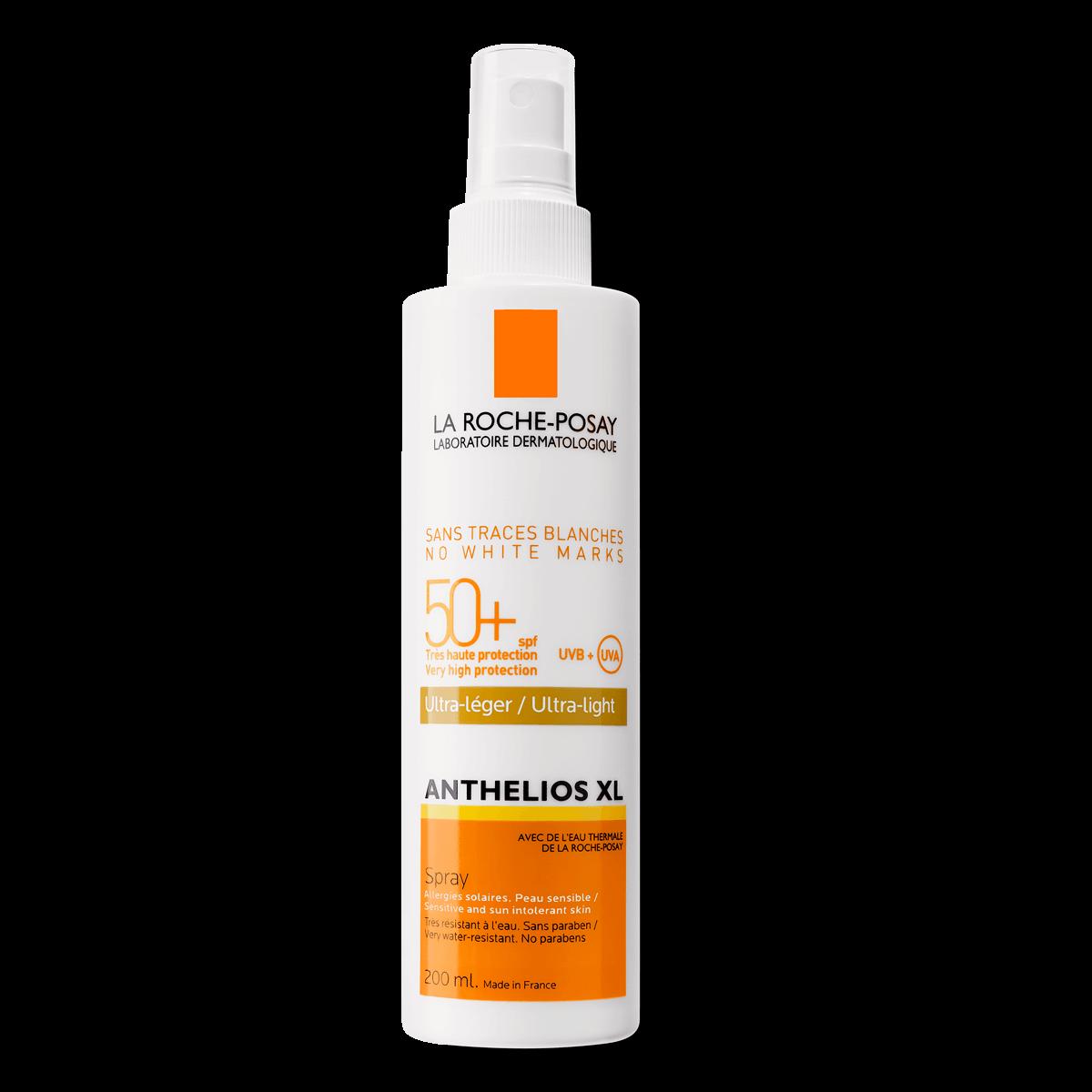 La Roche Posay ProductPage Sun Anthelios XL Ultra Light Spray Spf50 20