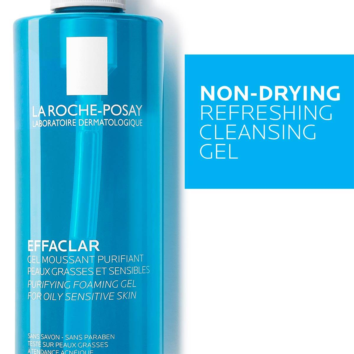 La Roche Posay ProductPage Acne Effaclar Cleansing Foaming Gel 400ml 3